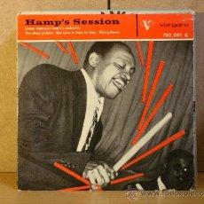 Discos de vinilo: LIONEL HAMPTON AND HIS ORCHESTRA - HAMP'S SESSION - VERGARA 752.001 C - 1961 - UNA PRECIOSIDAD . Lote 37959647