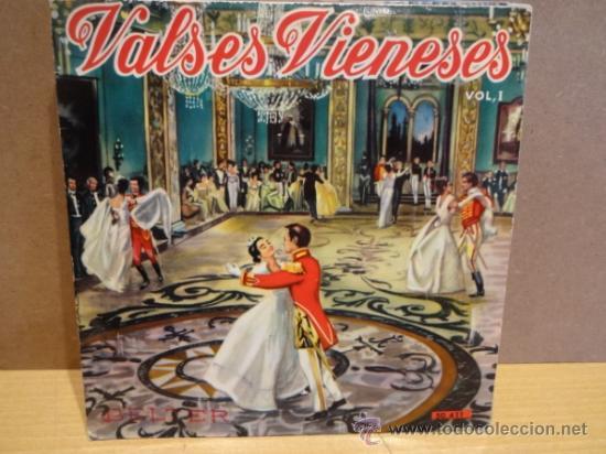 VALSES VIENESES. ORQUESTA VIENESA DE CONCIERTOS. EP BELTER 1961.IMPECABLE. ****/**** (Música - Discos de Vinilo - EPs - Clásica, Ópera, Zarzuela y Marchas)