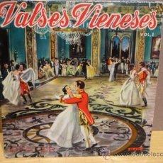 Discos de vinilo: VALSES VIENESES. ORQUESTA VIENESA DE CONCIERTOS. EP BELTER 1961.IMPECABLE. ****/****. Lote 37959667