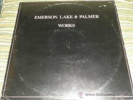 Discos de vinilo: EMERSON LAKE & PALMER - WORKS DOBLE LP - ORIGINAL INGLES - ATLANTIC 1977 - TRIFOLD COVER - - Foto 21 - 37957046
