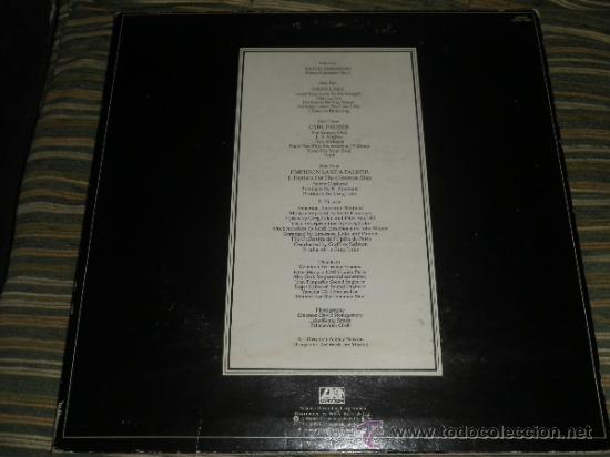 Discos de vinilo: EMERSON LAKE & PALMER - WORKS DOBLE LP - ORIGINAL INGLES - ATLANTIC 1977 - TRIFOLD COVER - - Foto 20 - 37957046