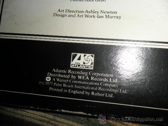 Discos de vinilo: EMERSON LAKE & PALMER - WORKS DOBLE LP - ORIGINAL INGLES - ATLANTIC 1977 - TRIFOLD COVER - - Foto 14 - 37957046