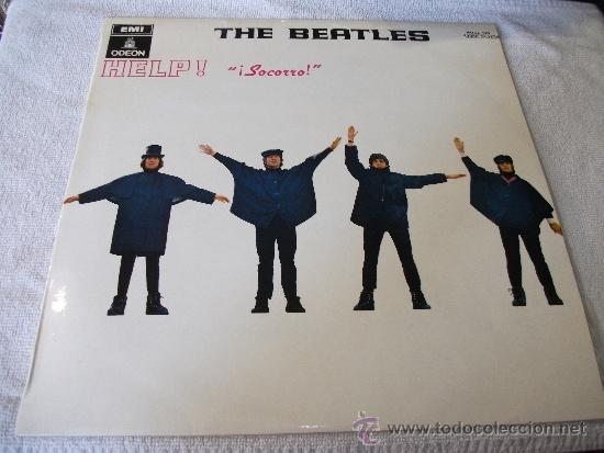 THE BEATLES / HELP ! / EDICCION ESPAÑOLA / ODEON 1970 (Música - Discos - LP Vinilo - Pop - Rock Extranjero de los 50 y 60)