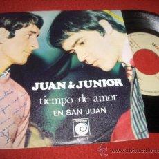 Discos de vinilo: JUAN & JUNIOR TIEMPO DE AMOR/ EN SAN JUAN 7