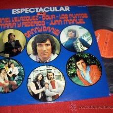 Discos de vinilo: ESPECTACULARES DANIEL VELAZQUEZ/ DOVA/ LOS PUNTOS LP 1974 POLYDOR ED ESPAÑOLA. Lote 38005869