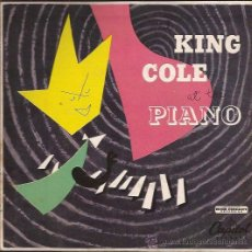 Discos de vinilo: EP-NAT KING COLE-CAPITOL 156-195??-USA-DOBLE-JAZZ. Lote 38008098