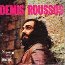 Discos de vinilo: DEMIS ROUSSOS - END OF THE LINE / WHE SHALL DANCE / GOOD DAYS HAVE GONE, ETC - EP 1972. Lote 38489825