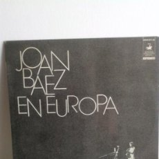 Discos de vinilo: LP JOAN BAEZ EN EUROPA 1972. Lote 38016668