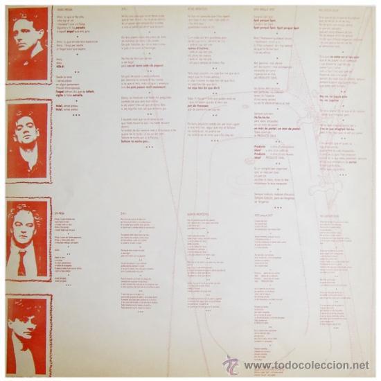 Discos de vinilo: LA MADAM - SENSE PRESSA - LP SPAIN 1987 - PDI – 30.1253 - Foto 3 - 38021224