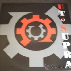 Discos de vinilo: UT SUPRA - TV CRAMP - NEOTEK RECORDS VALENCIA - SPAIN 1993 - EBM, INDUSTRIAL, SYNTH-POP -. Lote 38029839