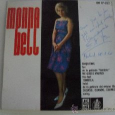 Discos de vinilo: MONNA BELL - CHIQUITINA + 3 EP 1962. Lote 38040177