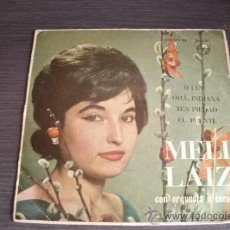 Discos de vinilo: MELI LAIZ - DILE - TEN PIEDAD - OHA INDIANA - SINGLE SPAIN 1961. Lote 38042544