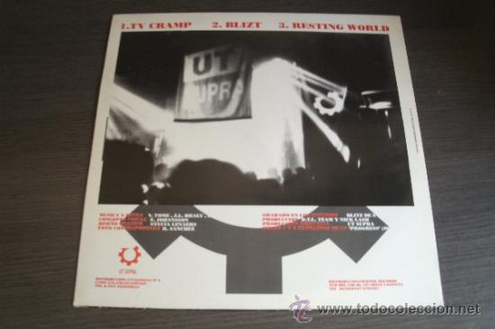 Discos de vinilo: UT SUPRA - TV Cramp - Neotek Records Valencia - Spain 1993 - EBM, Industrial, Synth-Pop - - Foto 4 - 38029839