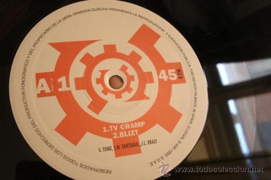 Discos de vinilo: UT SUPRA - TV Cramp - Neotek Records Valencia - Spain 1993 - EBM, Industrial, Synth-Pop - - Foto 2 - 38029839
