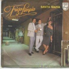 Dischi in vinile: TRIGO LIMPIO,SANTA MARIA DEL 83. Lote 38028333
