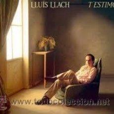 Discos de vinilo: LLUÍS LLACH. T' ESTIMO. LP. ARIOLA.. Lote 38038024