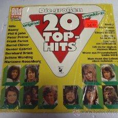 Discos de vinilo: DIE GROSSEN 20 TOP-HITS. Lote 38040076