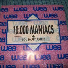 Discos de vinilo: PROMO EP - 10000 MANIACS - YOU HAPPY PUPPET. Lote 38044821