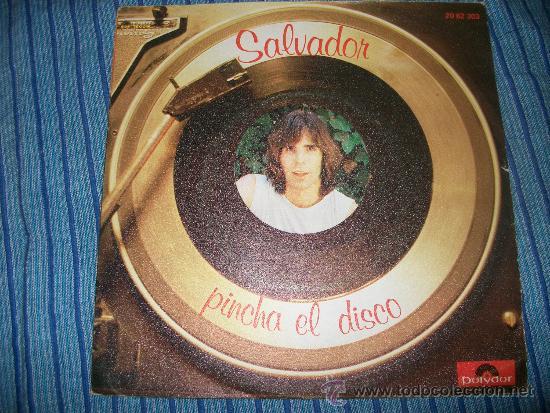 EP - SALVADOR - PINCHA EL DISCO (Música - Discos de Vinilo - EPs - Pop - Rock - New Wave Internacional de los 80)