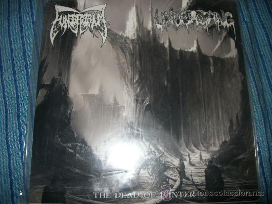 EP - FUNEBRARUM / UNDERGANG - THE DEAD OF WINTER TOUR - EDICION LIMITADA - FIRMADO (Música - Discos de Vinilo - EPs - Heavy - Metal)