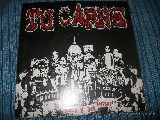 EP - TU CARNE - LA CASA DEL SEÑOR - FIRMADO POR 3 DE SUS COMPONENTE (Música - Discos de Vinilo - EPs - Heavy - Metal)