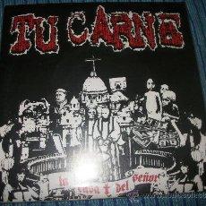 Discos de vinilo: EP - TU CARNE - LA CASA DEL SEÑOR - FIRMADO POR 3 DE SUS COMPONENTE. Lote 38046248