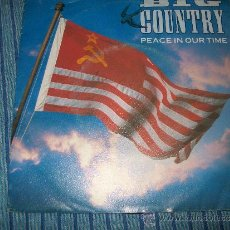 Discos de vinilo: EP - BIG COUNTRY - PEACE IN OUR TIME / PROMISED LAND. Lote 38046465