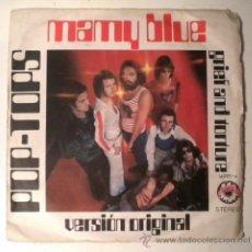 Discos de vinilo: POP TOPS - MAMY BLUE - AROLA 1.971. Lote 38046749