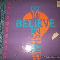 Discos de vinilo: EP - DURAN DURAN - DO YOU BELIEVE IN SHAME. Lote 38046810