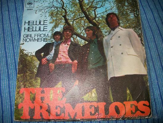 EP - THE TREMELOES - HELULE HELULE / GIRL FROM NOWHERE (Música - Discos de Vinilo - EPs - Pop - Rock - New Wave Internacional de los 80)