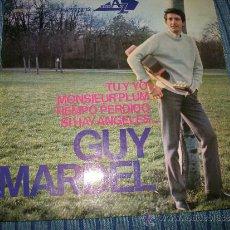 Discos de vinilo: EP - GUY MARDEL - TU Y YO . Lote 38046926