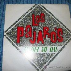 Discos de vinilo: PROMO EP - LOS PAJAROS - TU QUE ME DAS. Lote 38049583