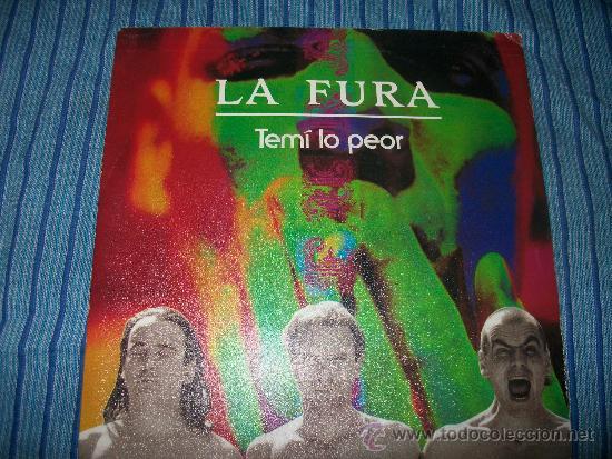 PROMO EP - LA FURA - TEMI LO PEOR (Música - Discos de Vinilo - EPs - Pop - Rock - New Wave Internacional de los 80)