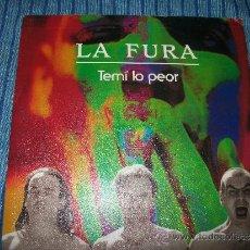Discos de vinilo: PROMO EP - LA FURA - TEMI LO PEOR. Lote 38050135