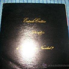 Discos de vinilo: EP - ESTADO CRITICO - DONDE ESTAS NAVIDAD - HIP HOP. Lote 38050397