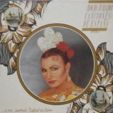 Discos de vinilo: ROCIO JURADO - CANCIONES DE ESPAÑAS INEDITAS - A MI QUERIDO RAFAEL DE LEON - LP. Lote 38063746