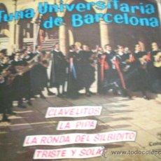 Discos de vinilo: TUNA UNIVERSITARIA DE BARCELONA. Lote 38177936