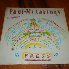 Discos de vinilo: PAUL MCCARTNEY MC CARTNEY MAXI SINGLE PRESS EMI SPAIN 1986 COMPROBADO SIN PROBLEMAS VCC. Lote 38098505