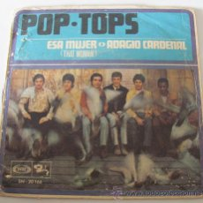 Discos de vinilo: POP-TOPS - ESA MUJER - SINGLE 1968. Lote 38070538