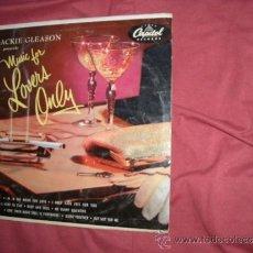 Discos de vinilo: JACKIE GLEASON MUSIC FOR LOVERS ONLY LP 25 CM 10 PULGADAS CAPITOL GERMANY. Lote 38070773