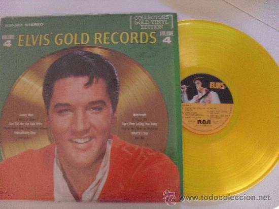 ELVIS ' GOLD RECORDS - LOVE LETTERS (Música - Discos - LP Vinilo - Pop - Rock - Extranjero de los 70)