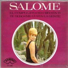 Discos de vinilo: EP SALOME : EL COMPLEJITO ( TEMAS DE AUGUSTO ALGUERO, LUIS DEMETRIO . Lote 38077960