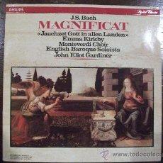 Discos de vinilo: J.S. BACH, MAGNIFICAT. Lote 38087699