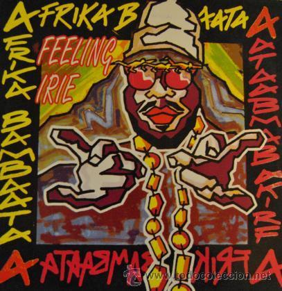"""AFRIKA BAMBAATA - FEELING IRIE REMIXES - R@RE VINYL 12"""" MAXI SINGLE 45 (Música - Discos de Vinilo - Maxi Singles - Disco y Dance)"""