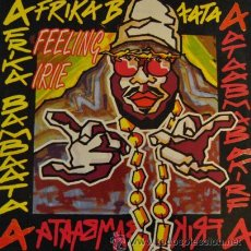 "Discos de vinilo: AFRIKA BAMBAATA - FEELING IRIE REMIXES - R@RE VINYL 12"" MAXI SINGLE 45. Lote 38088054"