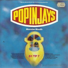 Discos de vinilo: POPINJAYS - MONSTER MOUTH / SOMETHING ABOUT YOU - SINGLE ONE LITTLE INDIAN UK 1992. Lote 38088335
