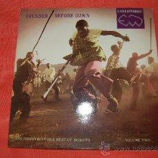 Discos de vinilo: THUNDER BEFORE DAWN. Lote 38094074