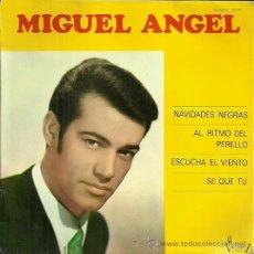 Discos de vinilo: MIGUEL ANGEL EP SELLO VICTORIA EDITADO EN ESPAÑA AÑO 1966. Lote 38101879