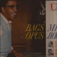 Discos de vinilo: LP-MILT JACKSON BAGS OPUS-UNITED ARTISTS 4022-USA 1959-JAZZ FARMER GOLSON KAY. Lote 38102371