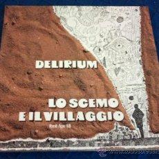 Discos de vinilo: DELIRIUM - LO SCEMO E IL VILLAGGIO ( LP REEDITION ) ITALIA 70S PROG. Lote 38104318